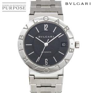 ブルガリ BVLGARI ブルガリブルガリ BB33SS ボーイズ 腕時計 デイト ブラック 文字盤...
