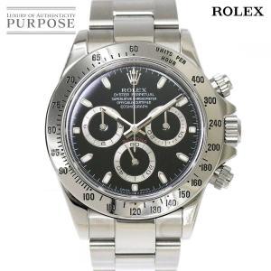 ロレックス ROLEX デイトナ 116520 D番 クロノグラフ メンズ 腕時計 ブラック 文字盤...