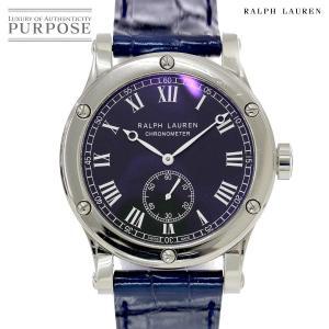 ラルフローレン RALPH LAUREN クラシック R0220706 メンズ 腕時計 ブラック 文...