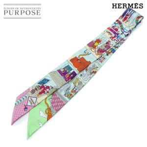 エルメス HERMES ツイリー スカーフ La Maison des Carres メゾン デ カ...