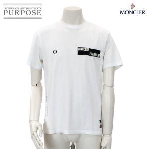 モンクレール フラグメント MONCLER FRAGMENT MAGLIA Tシャツ ホワイト コッ...