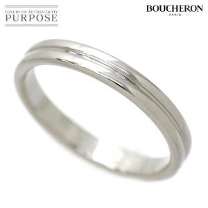 ブシュロン BOUCHERON ゴドロン リング #58 Pt950 プラチナ 指輪