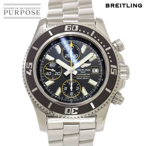 ブライトリング BREITLING スーパーオーシャン44 A13341 メンズ 腕時計 デイト ブ...