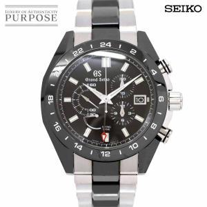 グランドセイコー GRAND SEIKO スプリングドライブ GMT SBGC223 メンズ 腕時計...