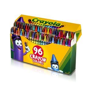 クレヨラ お絵かき クレヨン 96色 シャープナー付き Crayon Colors 520096|purrbase-store