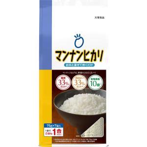 大塚食品 マンナンヒカリ 525g [スティックタイプ(75g×7袋入)]|purrbase-store