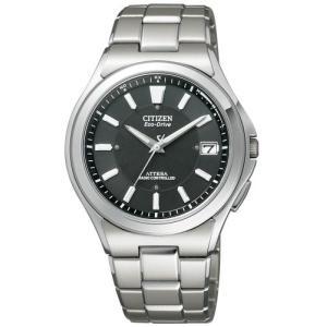 [シチズン]CITIZEN 腕時計 ATTESA アテッサ Eco-Drive エコ・ドライブ 電波時計 ATD53-2841 メンズ|purrbase-store