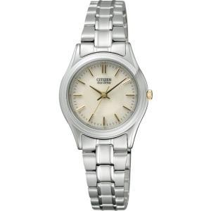 [シチズン]CITIZEN 腕時計 Citizen Collection シチズン コレクション Eco-Drive エコ・ドライブ シンプルアジャスト ペアモデル FRB36-2452 レディース|purrbase-store