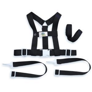 Baby Buddy ベビーバディ Deluxe Security Harness 3WAY デラックス迷子防止ハーネス Black ブラック|purrbase-store
