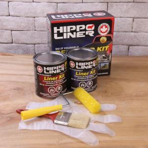 荷台用防錆 HIPPO LINER(ヒッポーライナー) 1.7Lセット (黒)|purrbase-store