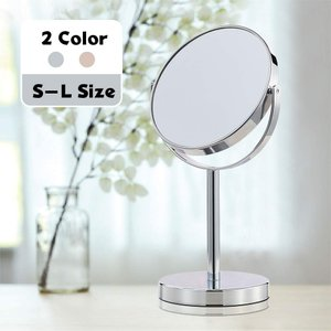 (セーディコ) Cerdeco シンプルデザイン 真実の両面鏡DX 5倍拡大鏡 360度回転 卓上鏡...