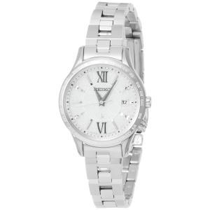 [ルキア]LUKIA 腕時計 LUKIA ソーラー電波 フローズンホワイト文字盤 10気圧防水 SSVV035 レディース|purrbase-store