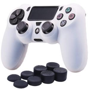 PS4 コントローラー カバー シリコン製 ソニー プレイステーション4 Slim Pro対応用 コ...
