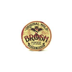 BROSH (ブロッシュ) BROSH mini ORIGINAL POMADE 40g 水性ポマード 整髪料 ミニサイズ purrbase-store