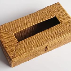 アタ製ティッシュボックス(シンプル)|putihbali