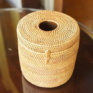 アタ製トイレットペーパーホルダー|putihbali