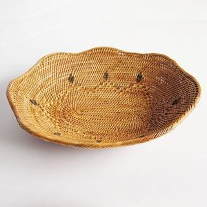アタ製フルーツ皿(波型)|putihbali