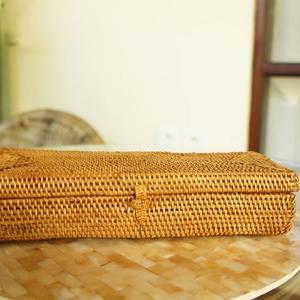 アタ製蓋付きカトラリーボックス|putihbali