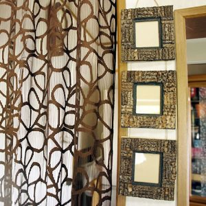 バリ製3連椰子枝のフォトフレーム|putihbali