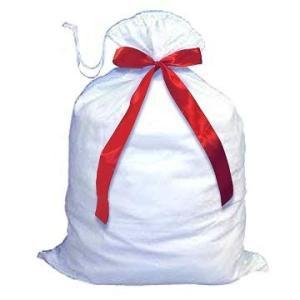 Almmy.6 サンタさんの大きな袋 赤リボン付 サンタクロース クリスマス コスプレ衣装 小物