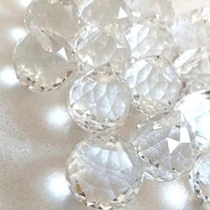 サンキャッチャー クリスタル ボール 20mm玉 20個セット 最高透明度