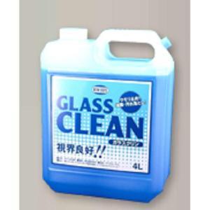 油膜取り 強力 くもり止め 自動車用 ガラスクリーナー ニューホープ ガラスクリン 4L GC-48|pvd1