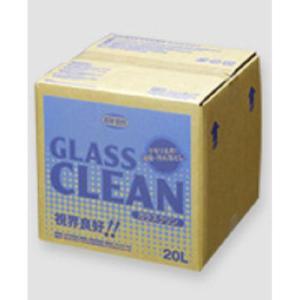 油膜取り剤 強力 くもり止め 自動車用 ガラスクリーナー ニューホープ ガラスクリン 20L GC-48 直送特価品 送料無料|pvd1