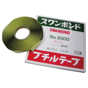 TAKADAR タカダ化学 ブチルテープ3mmx5M 業務用ロープシーラー  スワンボンド9300|pvd1