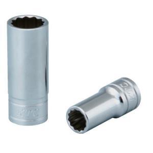 KTC工具 38 9.5sq 12角 セミディープソケット ミリ16mm〜17mm  B3M-16W B3M-17W|pvd1