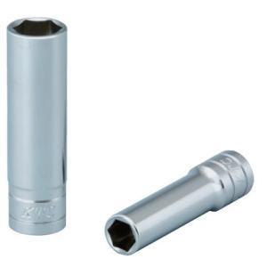 KTC工具 38  9.5sq  6角 ディープソケット ミリ 22mm  B3L-22|pvd1