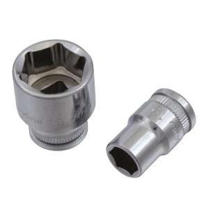 Pro-Auto 38 9.5sq 6角 ボルトナットを痛めない ウェーブソケット 24mm  0132240|pvd1