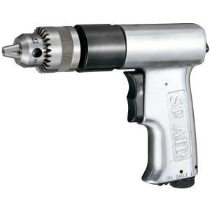スポットはがしにも使える!小型軽量モデル 【SP AIR エスピーエアー】 10mm用エアードリル 送料無料 / SP1540 (SP-1540)