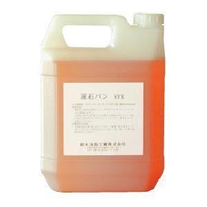 業務用トイレ洗剤 トイレの尿石除去剤  鈴木油脂 尿石バン 4kg  S-2433|pvd1
