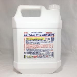 ゼリー状 強力 かび取り剤 臭いが少ない 黒カビ 除去 パッキン カビとり一発リキッド 4kg  S-2472|pvd1