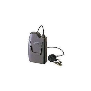 ツーピースタイプワイヤレスマイクロホンユニペックス WM-8100A PLL800MHz|pvd1