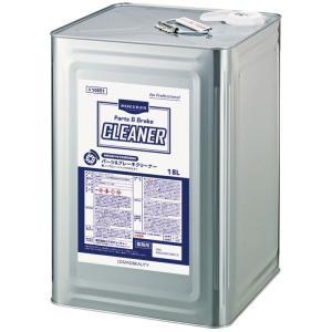 モクケン パ−ツ&ブレ−キクリ−ナ−18L(缶) オイルやグリスの洗浄剤 コスモビューティー 10851|pvd1