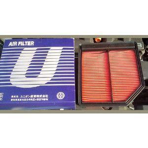 エアーエレメント エアーフィルター ホンダ車用 A-578Vユニオン産業|pvd1