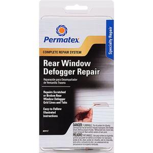リアガラス 熱線補修剤 1.5ml リアデフォッガー 補修 キット 09117 Permatex|pvd1