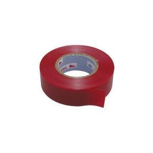 赤 ナシジテープ 19mm×20m×0.2mm 10巻入/4013-A-115R|pvd2
