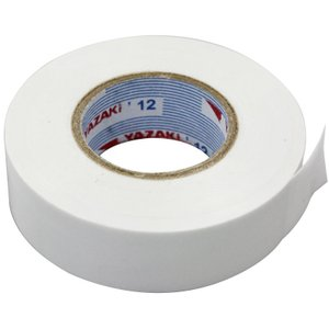白 ナシジテープ 19mm×20m×0.2mm 10巻入/4013-A-115W|pvd2