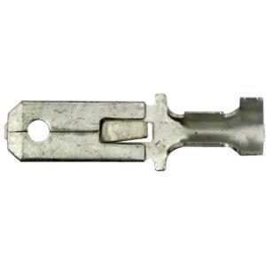 平型端子(250タイプ) オス 錫メッキ 適用電線:0.5〜2.3sq 100個入 / 4013-A-139|pvd2