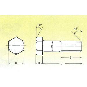 全ISOボルト クロメート 16×75 10本入 /4402-1675|pvd2|02