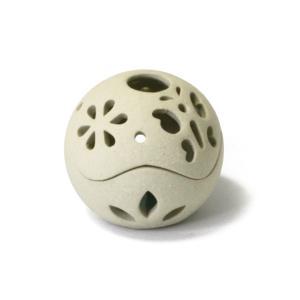 お香立て コーン香用  陶器 球形 タジン|pwanpwan