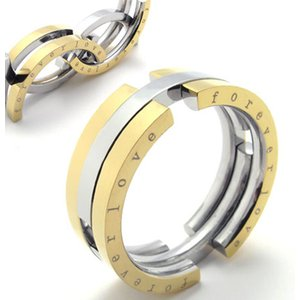 PW 高品質316Lステンレス 変形 指輪 リング 条件付 送料無料 20953|pwatch2014