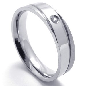 PW 高品質ステンレス ダイヤモンドcz 指輪 リング 条件付 送料無料 21667|pwatch2014