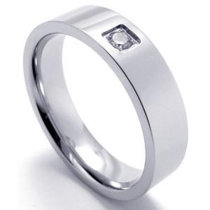 PW 高品質ステンレス ダイヤモンドcz 指輪 リング 条件付 送料無料 21682|pwatch2014