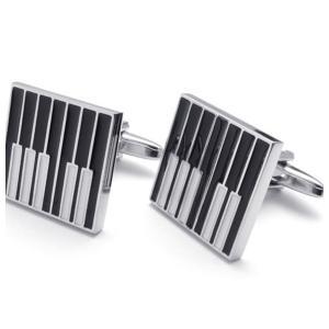 PW 高品質真鍮 ステンレス ピアノ カフス ボタン 条件付 送料無料 22306 pwatch2014