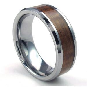 PW 日本未発売 高純度タングステン木の紋 指輪 条件付 送料無料 22660|pwatch2014