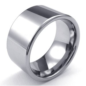 PW 高品質シンプルタングステン製 指輪 条件付 送料無料 23096|pwatch2014