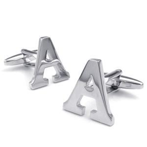 PW 高品質真鍮 アルファベットx カフス ボタン 条件付 送料無料 23199 pwatch2014